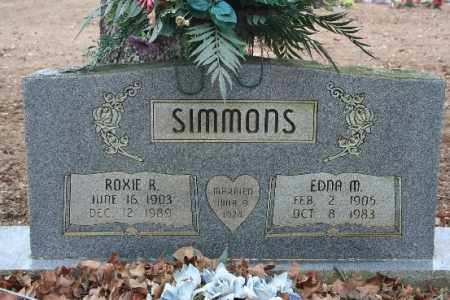 SIMMONS, EDNA M - Crawford County, Arkansas | EDNA M SIMMONS - Arkansas Gravestone Photos