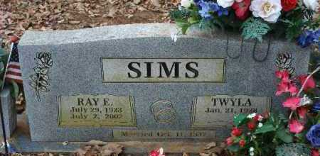 SIMS, RAY E - Crawford County, Arkansas | RAY E SIMS - Arkansas Gravestone Photos