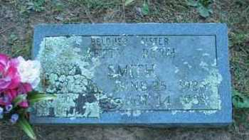 SMITH, BETTY RUTH - Crawford County, Arkansas | BETTY RUTH SMITH - Arkansas Gravestone Photos