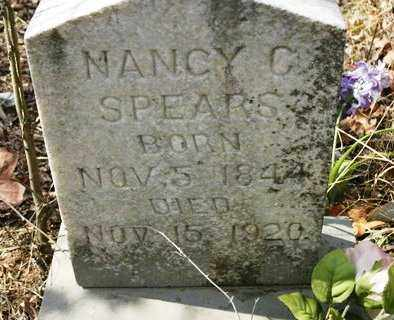 SPEARS, NANCY C - Crawford County, Arkansas | NANCY C SPEARS - Arkansas Gravestone Photos