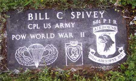 SPIVEY (VETERAN WWII POW), BILL C - Crawford County, Arkansas | BILL C SPIVEY (VETERAN WWII POW) - Arkansas Gravestone Photos