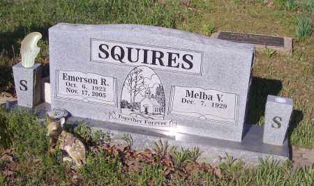 SQUIRES, EMERSON R - Crawford County, Arkansas | EMERSON R SQUIRES - Arkansas Gravestone Photos