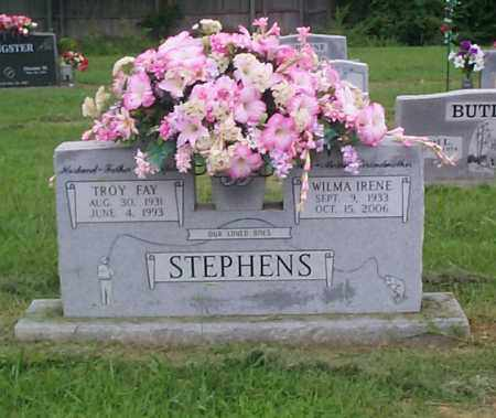 STEPHENS, WILMA IRENE - Crawford County, Arkansas | WILMA IRENE STEPHENS - Arkansas Gravestone Photos