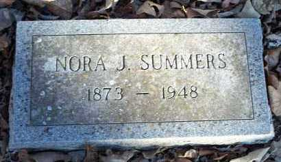 SUMMERS, NORA J. - Crawford County, Arkansas | NORA J. SUMMERS - Arkansas Gravestone Photos