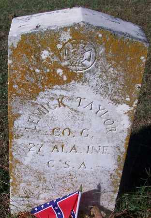TAYLOR (VETERAN CSA), LEMICK - Crawford County, Arkansas | LEMICK TAYLOR (VETERAN CSA) - Arkansas Gravestone Photos