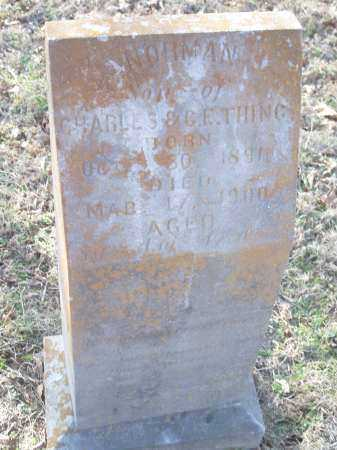 THING, NORMAN - Crawford County, Arkansas | NORMAN THING - Arkansas Gravestone Photos