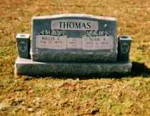 THOMAS, WILLIS EDWARD - Crawford County, Arkansas | WILLIS EDWARD THOMAS - Arkansas Gravestone Photos