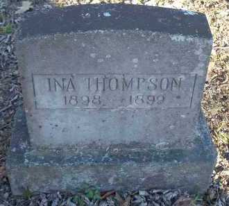 THOMPSON, INA - Crawford County, Arkansas | INA THOMPSON - Arkansas Gravestone Photos