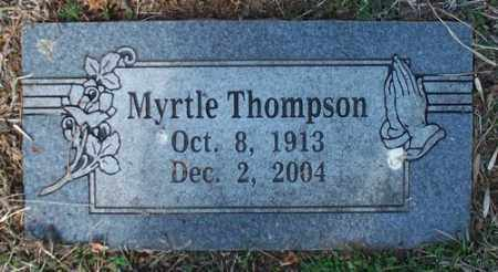 THOMPSON, MYRTLE - Crawford County, Arkansas | MYRTLE THOMPSON - Arkansas Gravestone Photos