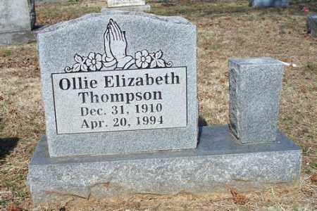 THOMPSON, OLLIE - Crawford County, Arkansas | OLLIE THOMPSON - Arkansas Gravestone Photos