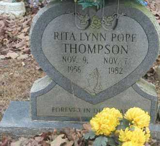 POPE THOMPSON, RITA - Crawford County, Arkansas | RITA POPE THOMPSON - Arkansas Gravestone Photos
