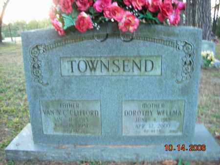 TOWNSEND, VAN V.C. CLIFFORD - Crawford County, Arkansas | VAN V.C. CLIFFORD TOWNSEND - Arkansas Gravestone Photos