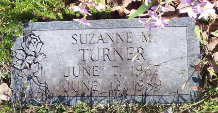 TURNER, SUZANNE M - Crawford County, Arkansas | SUZANNE M TURNER - Arkansas Gravestone Photos