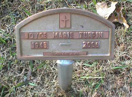 TURPIN, JOYCE MARIE - Crawford County, Arkansas | JOYCE MARIE TURPIN - Arkansas Gravestone Photos