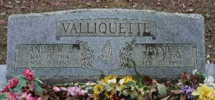 VALLIQUETTE, ANDREW J - Crawford County, Arkansas | ANDREW J VALLIQUETTE - Arkansas Gravestone Photos
