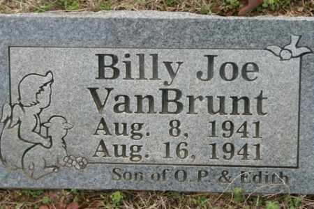 VANBRUNT, BILLY JOE - Crawford County, Arkansas | BILLY JOE VANBRUNT - Arkansas Gravestone Photos