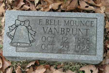 VANBRUNT, F BELL - Crawford County, Arkansas | F BELL VANBRUNT - Arkansas Gravestone Photos