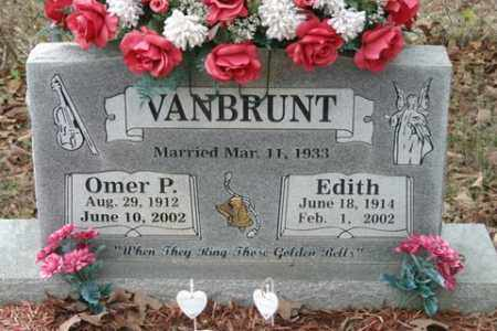 VANBRUNT, EDITH - Crawford County, Arkansas | EDITH VANBRUNT - Arkansas Gravestone Photos