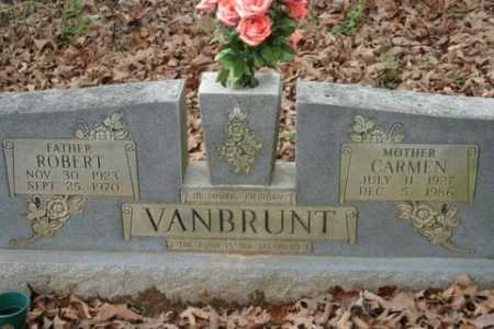 VANBRUNT, CARMEN - Crawford County, Arkansas | CARMEN VANBRUNT - Arkansas Gravestone Photos