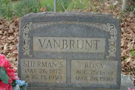 VANBRUNT, SHERMAN S. - Crawford County, Arkansas | SHERMAN S. VANBRUNT - Arkansas Gravestone Photos
