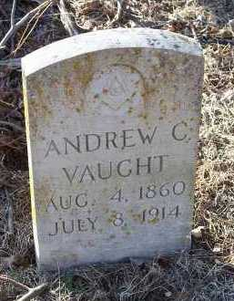 VAUGHT, ANDREW C. - Crawford County, Arkansas | ANDREW C. VAUGHT - Arkansas Gravestone Photos