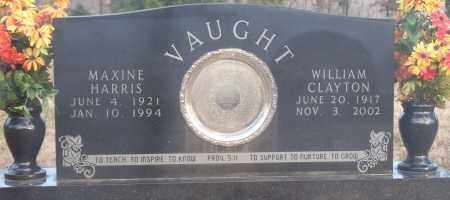 VAUGHT, MAXINE - Crawford County, Arkansas | MAXINE VAUGHT - Arkansas Gravestone Photos