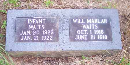 WAITS, INFANT - Crawford County, Arkansas | INFANT WAITS - Arkansas Gravestone Photos