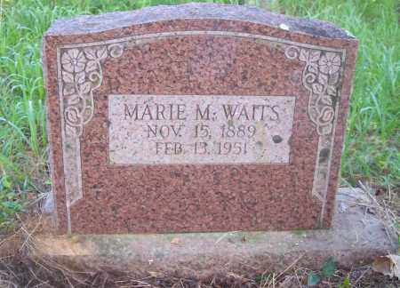 WAITS, MARIE M - Crawford County, Arkansas | MARIE M WAITS - Arkansas Gravestone Photos