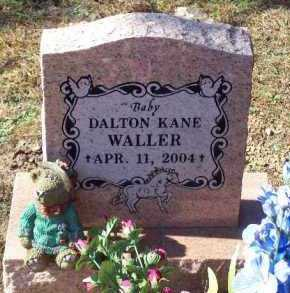 WALLER, DALTON KANE - Crawford County, Arkansas | DALTON KANE WALLER - Arkansas Gravestone Photos