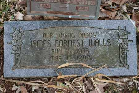 WALLS, JAMES EARNEST - Crawford County, Arkansas | JAMES EARNEST WALLS - Arkansas Gravestone Photos