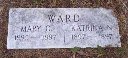 WARD, MARY O - Crawford County, Arkansas | MARY O WARD - Arkansas Gravestone Photos