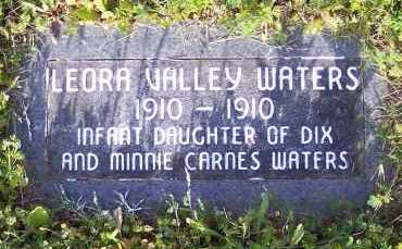 WATERS, LEORA VALLEY - Crawford County, Arkansas | LEORA VALLEY WATERS - Arkansas Gravestone Photos