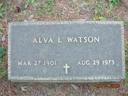 WATSON, ALVA L. - Crawford County, Arkansas | ALVA L. WATSON - Arkansas Gravestone Photos