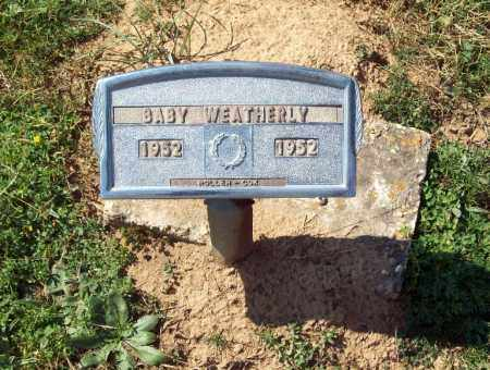 "WEATHERLY, ""BABY"" - Crawford County, Arkansas 