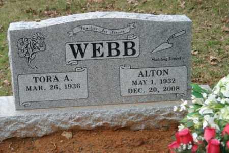 WEBB, ALTON - Crawford County, Arkansas | ALTON WEBB - Arkansas Gravestone Photos