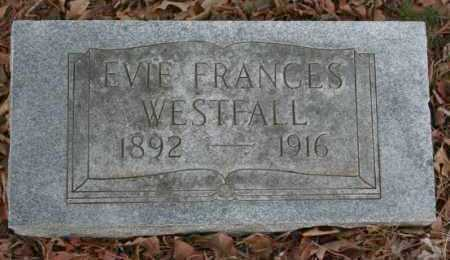 WESTFALL, EVIE - Crawford County, Arkansas | EVIE WESTFALL - Arkansas Gravestone Photos