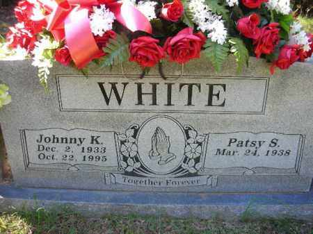 WHITE, JOHNNY KEITH - Crawford County, Arkansas | JOHNNY KEITH WHITE - Arkansas Gravestone Photos