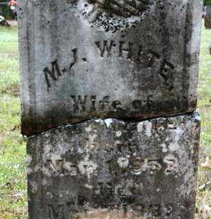 WHITE, M J - Crawford County, Arkansas | M J WHITE - Arkansas Gravestone Photos