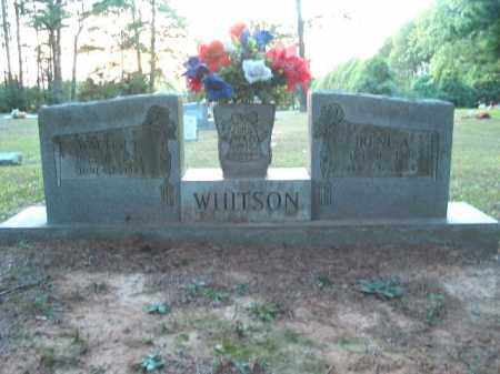 WHITSON, WALTER LEE - Crawford County, Arkansas | WALTER LEE WHITSON - Arkansas Gravestone Photos