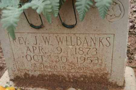 WILBANKS, J. W. - Crawford County, Arkansas | J. W. WILBANKS - Arkansas Gravestone Photos