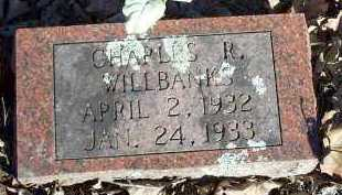 WILLBANKS, CHARLES R - Crawford County, Arkansas | CHARLES R WILLBANKS - Arkansas Gravestone Photos