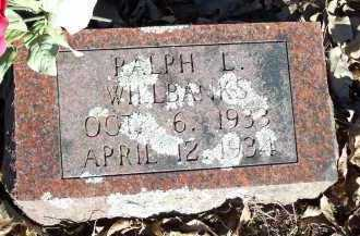 WILLBANKS, RALPH L. - Crawford County, Arkansas | RALPH L. WILLBANKS - Arkansas Gravestone Photos