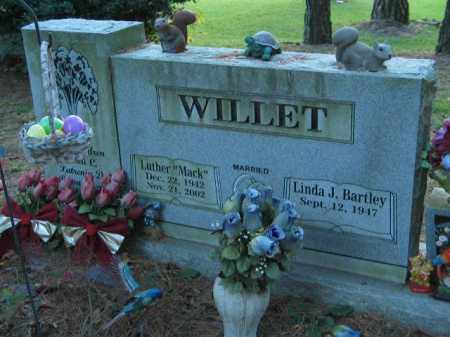 BARTLEY WILLET, LINDA J. - Crawford County, Arkansas | LINDA J. BARTLEY WILLET - Arkansas Gravestone Photos