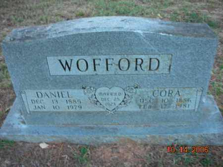 WOFFORD, DANIEL - Crawford County, Arkansas | DANIEL WOFFORD - Arkansas Gravestone Photos