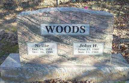 WOODS, NELLIE - Crawford County, Arkansas | NELLIE WOODS - Arkansas Gravestone Photos
