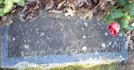 WOODS, JOSEPHINE - Crawford County, Arkansas | JOSEPHINE WOODS - Arkansas Gravestone Photos