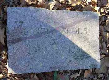 WOODS, LENORA - Crawford County, Arkansas | LENORA WOODS - Arkansas Gravestone Photos