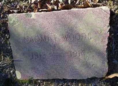 WOODS, NAOMI L. - Crawford County, Arkansas | NAOMI L. WOODS - Arkansas Gravestone Photos