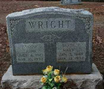 WRIGHT, FRANK - Crawford County, Arkansas | FRANK WRIGHT - Arkansas Gravestone Photos