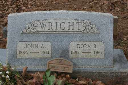 WRIGHT, JOHN A - Crawford County, Arkansas | JOHN A WRIGHT - Arkansas Gravestone Photos